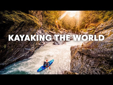 Four Best Locations for White Water Kayaking!