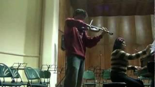 Andres Bravo Saint- Saens Introduction & Rondo Capriccioso La Paz Bolivia