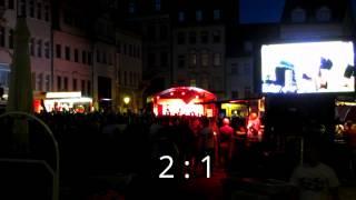 preview picture of video 'Fanmeile Altenburg  17.06.2012'