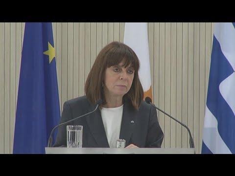 ΠτΔ: Η επίσκεψη μου, ενδεικτική της κορυφαίας θέσης του Κυπριακού στην εθνική μας πολιτική