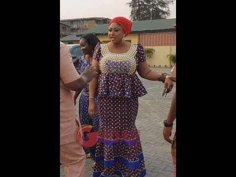See Ronke Oshodi's Outfit To Liz Da Silva's Ankara Day As She Speaks About Liz Da Silva & Ankara Day
