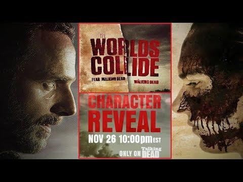 Walking Dead Fear The Walking Dead Crossover Major News - Character To Be Revealed On Talking Dead?