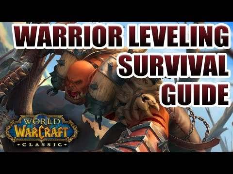 Classic WoW: Warrior Leveling Survival Guide