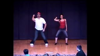 "Dance Dad Matt Taylor & Ballerina Sadia Brimm perform ""Uptown Girl"" -Dancing with the Stars"