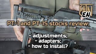 PT-1 and PT-1S stocks: adjustments, adapters, how to install