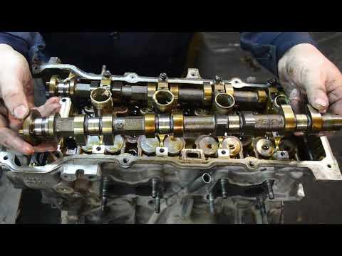 Разбор двигателя QG13 , Цепь грм сожрала крышку лобовую двигателя