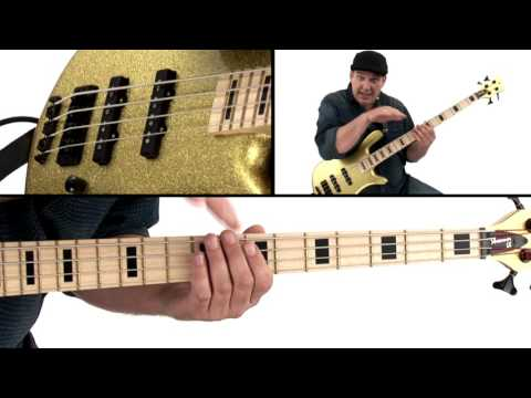 Bass Guitar Lesson - The Funky Boogaloo - Andy Irvine