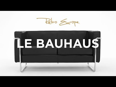 Le Bauhaus Sofa Details - Retro Europe (English)