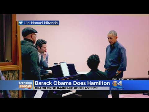 Trending: Barack Obama Does Hamilton Mp3
