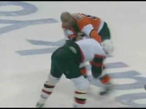 Donald Brashear vs. Brian McGrattan
