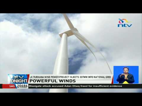 L.Turkana wind power project injects 307MW electricity to the national grid