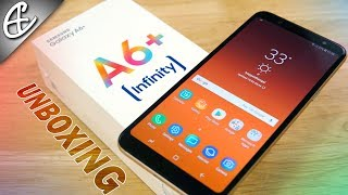 Samsung Galaxy A6 Plus | A6+ - Unboxing & Hands On (Dual Cameras + Infinity Display)