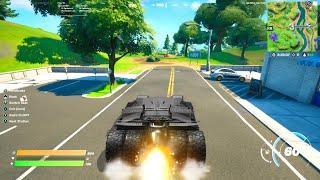 New BATMOBILE Vehicle in Fortnite!