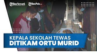 Tak Terima Anaknya Dipulangkan karena Nunggak Bayar Sekolah, Wali Murid Tikam Kepala Sekolah