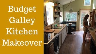 Galley Kitchen Ideas | Budget Kitchen Makeover