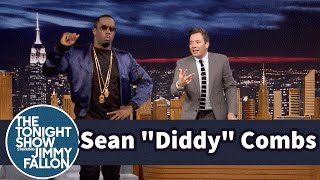 """Sean """"Diddy"""" Combs Gave Jimmy a Self-Destructing Party Invite"""