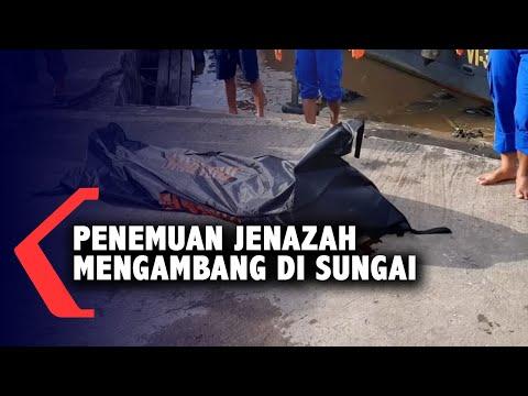 jenazah tanpa identitas ditemukan mengambang di sungai kapuas