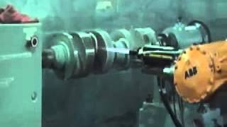 Video Phun đắp kim loại phục hồi trục khuỷu động cơ