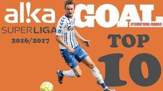 GOAL's TOP 10   Bedste Mål I Alka Superliga 20162017
