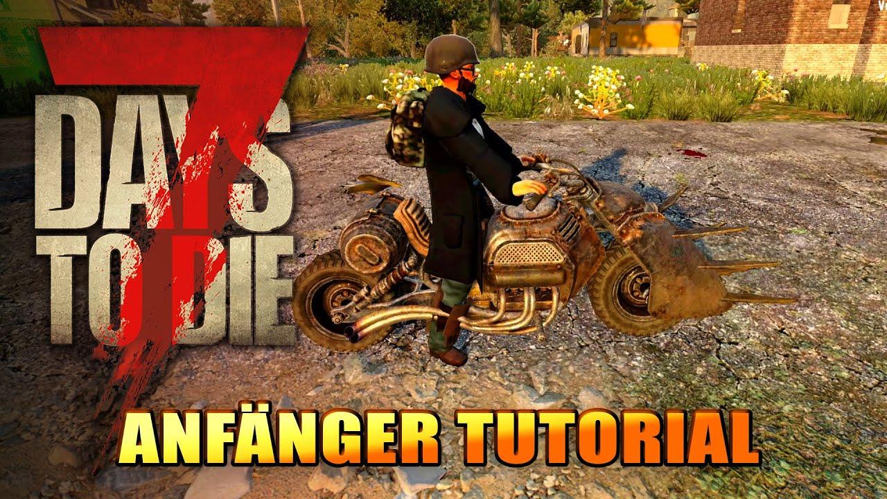 7 Days to Die 14 | Motorrad herstellen und Basis ausbauen | Alpha 19 Gameplay Deutsch Tutorial thumbnail