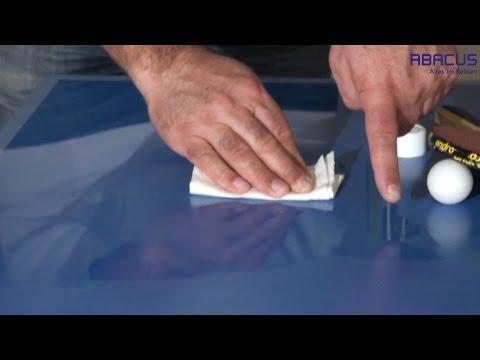 CITRAL Orangenölreiniger Tischtennisplatte reinigen - Baumharzentferner Fettlöser von ABACUS