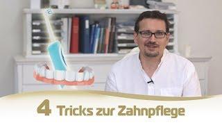 Besser Zähneputzen: 4 Tricks für 100 Jahre eigene Zähne
