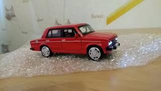 Модель автомобиля из металла LADA 2106
