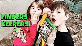 Kid Temper Tantrum Finds GTA 5 Buried In Back Yard - Finders Keepers