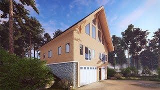 Download Youtube: OUR BIGGEST REVEAL YET (Timber Frame House Tour)