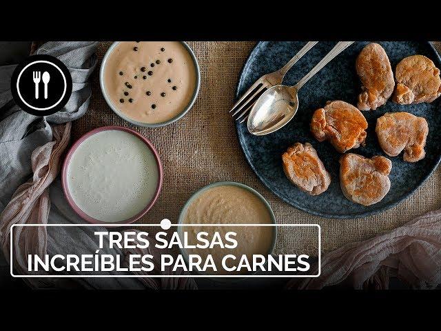 TRES SALSAS INCREÍBLES para convertir tu CARNE en la MEJOR RECETA DE NAVIDAD | Instafood