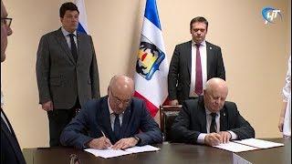 Подписан договор о передаче имущества компании «Транснефть» в собственность Шимского района
