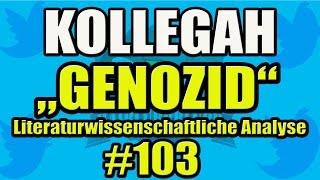 Kollegah: Genozid (Zuhältertape 4) - Literaturwissenschaftliche Analyse #103