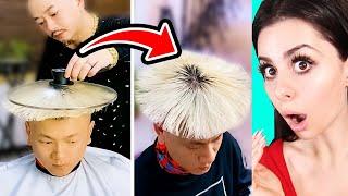 WEIRD HAIR TRANSFORMATIONS You Wont Believe !