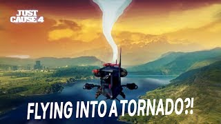 "What Happens If You Fly Into The Tornado In ""Just Cause 4"""