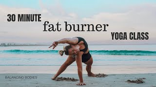 30 Minute Fat Burner Yoga Class
