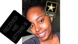 My first letter from my boyfriend in basic training !