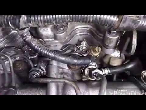 Фото к видео: Toyota Corolla 2C / 2CT. Ремонт форсунок, регулировка клапанов.