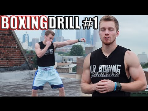 The BEST Boxing Footwork Drill for Beginners - YouTube