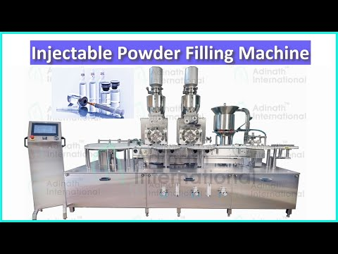 Injectable Vial Powder Filling Machine