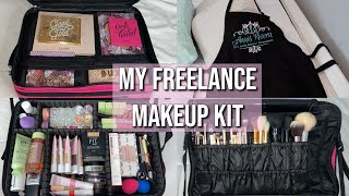 MY FREELANCE MAKEUP KIT | Essentials + Tips!