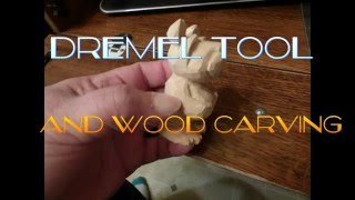 Using A Dremel To Carve