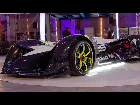 "The World's First Electric Driverless ""Roborace"" Racing Car | Top Gear"