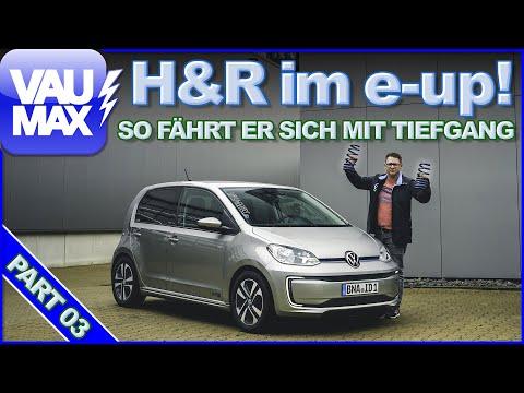 H&R-Tieferlegung für den VW e-up! So fährt er sich mit NEUEN Federn!