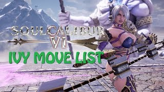 Soulcalibur 6 Tira vs Ivy (Beta version) - hmong video
