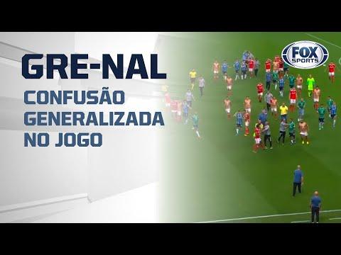 CONFUSÃO GENERALIZADA NO GRE-NAL!!