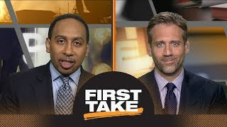 Stephen A. and Max react to LeBron James' broken hand | First Take | ESPN