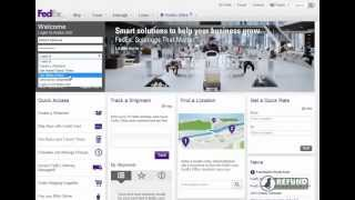 How to download invoices from FedEx Online Billing