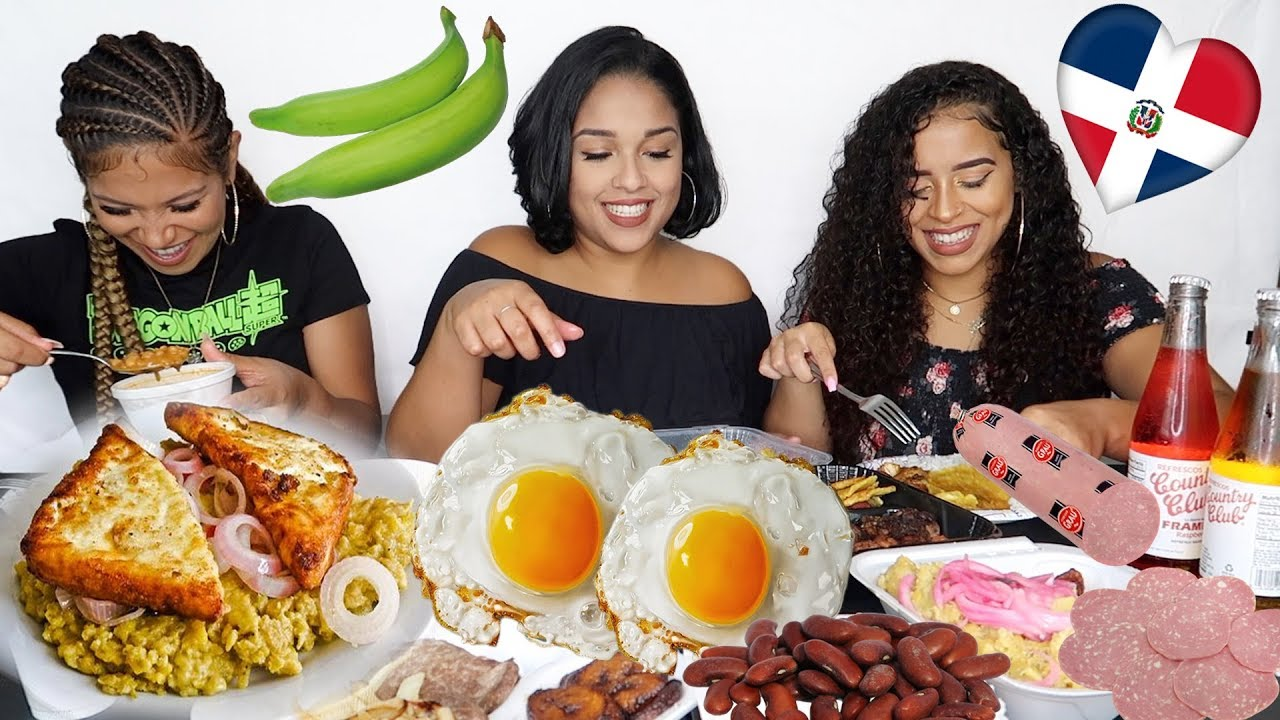 Dominican Food Mukbang