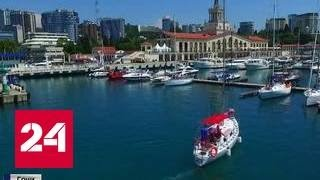 Иностранцы распробовали Сочи, море и шашлык