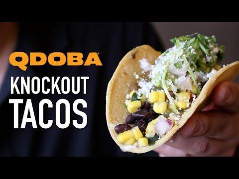 Qdoba 6 Knockout Tacos